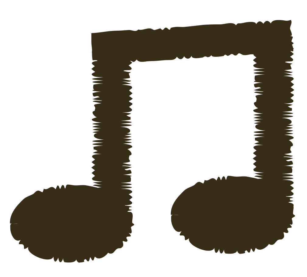 music note Clipart illustration in PNG, SVG