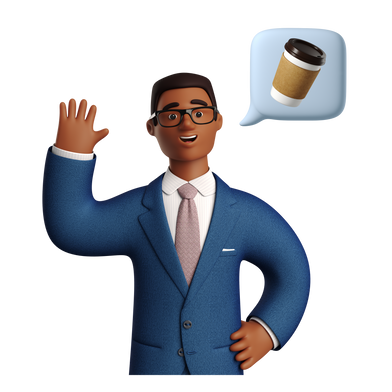 style Thinking about coffee images in PNG and SVG | Icons8 Illustrations