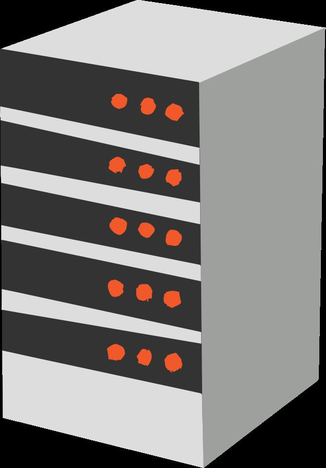 server Clipart illustration in PNG, SVG