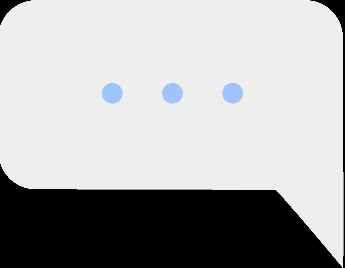 ellipse der nachrichtenwolke Clipart-Grafik als PNG, SVG