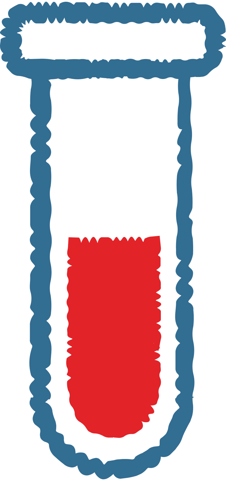 Tubo de ensaio Clipart illustration in PNG, SVG