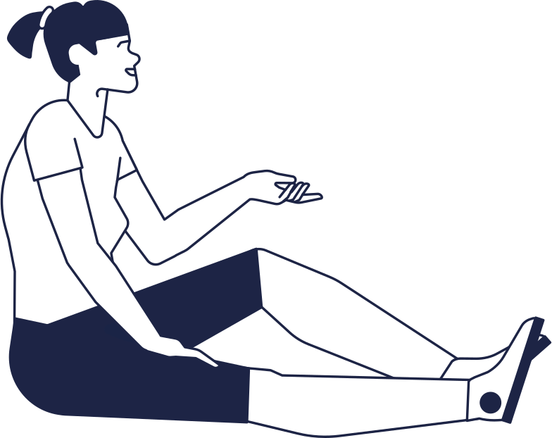 woman sitting Clipart illustration in PNG, SVG
