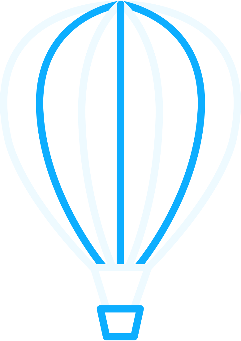 r hot air balloon Clipart illustration in PNG, SVG