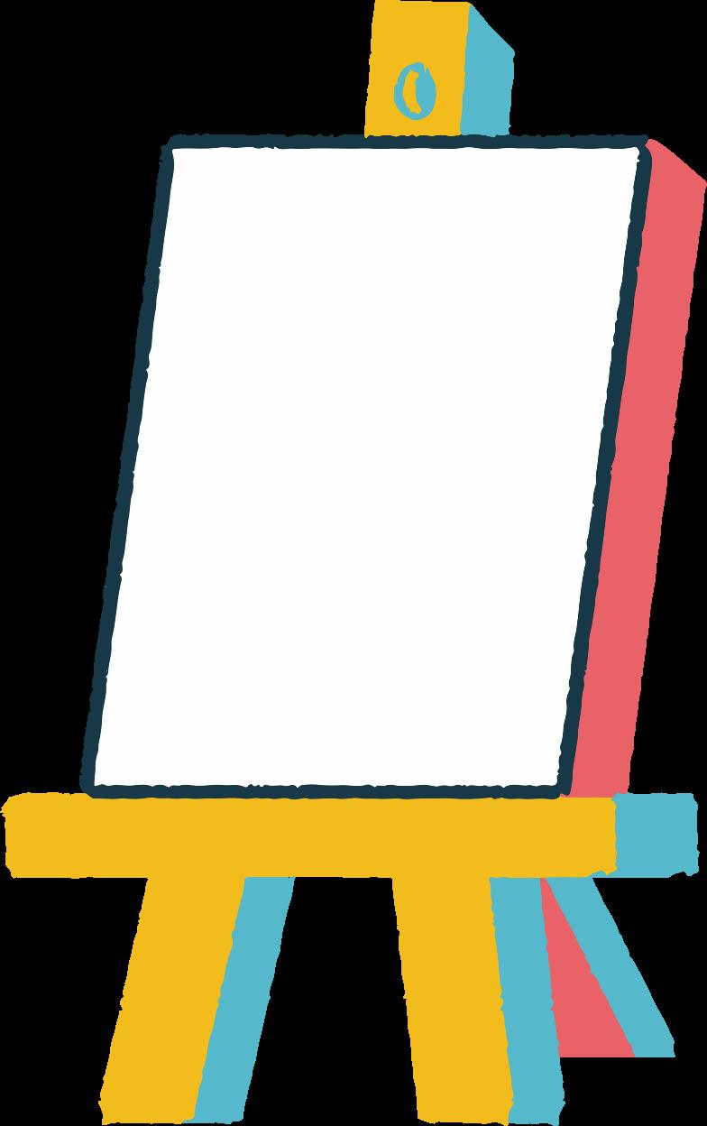 easel Clipart illustration in PNG, SVG