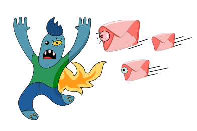 style Annoying spam images in PNG and SVG | Icons8 Illustrations