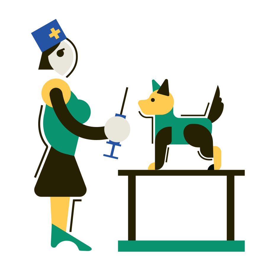 Veterinary Medicine Clipart illustration in PNG, SVG