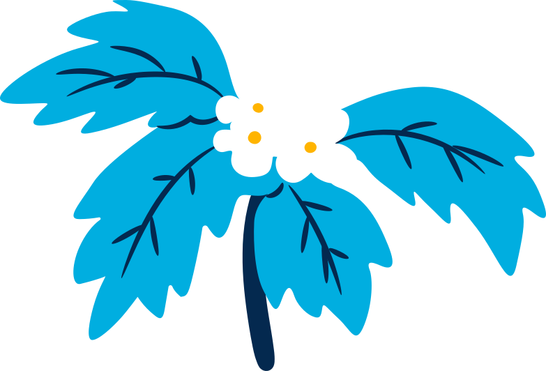 tree with flowers Clipart illustration in PNG, SVG