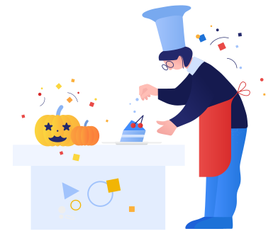 style Halloween dinner images in PNG and SVG | Icons8 Illustrations