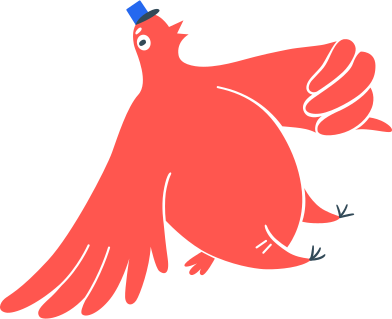 style postman bird images in PNG and SVG   Icons8 Illustrations