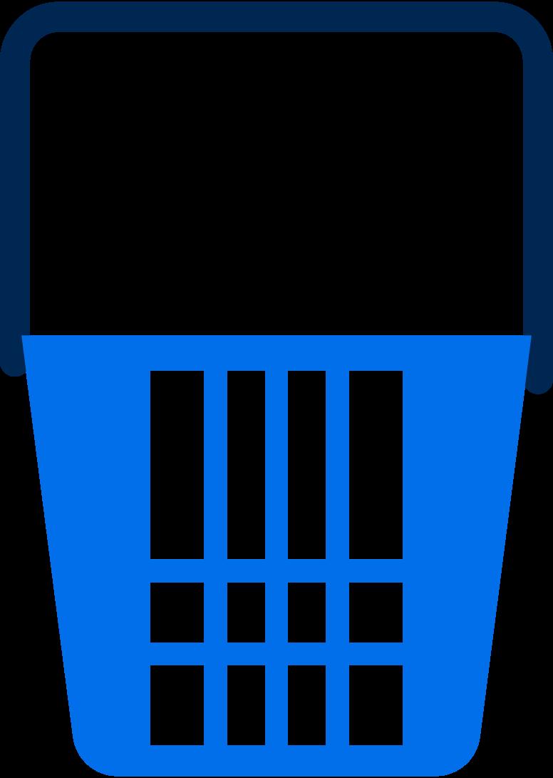 supermarket basket Clipart illustration in PNG, SVG