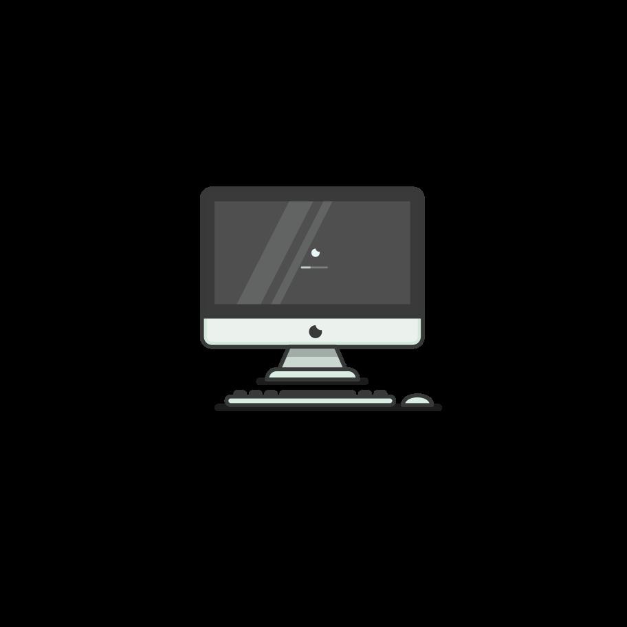 iMac Clipart illustration in PNG, SVG