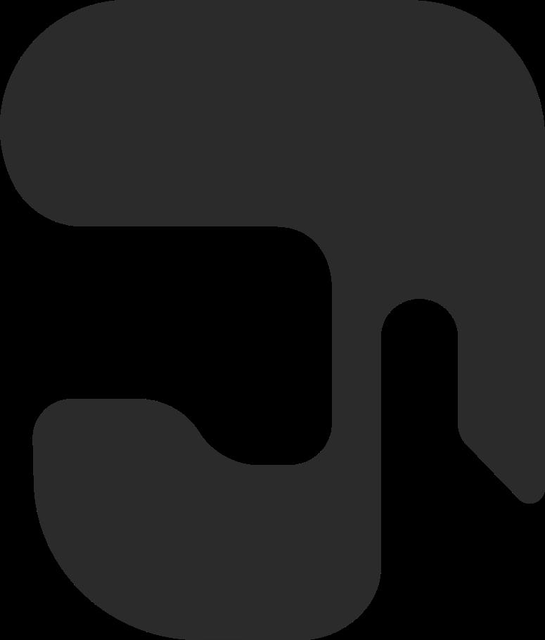 Ilustración de clipart de Cabello con barba al frente en PNG, SVG