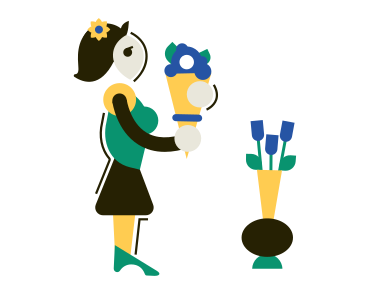 style Florist images in PNG and SVG | Icons8 Illustrations