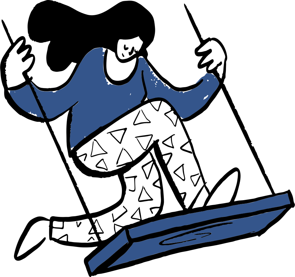 Swinging Clipart illustration in PNG, SVG