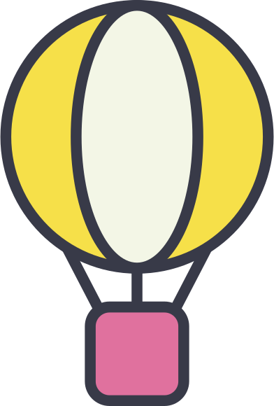 style hot air balloon images in PNG and SVG | Icons8 Illustrations