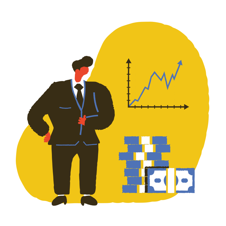 Business success Clipart illustration in PNG, SVG