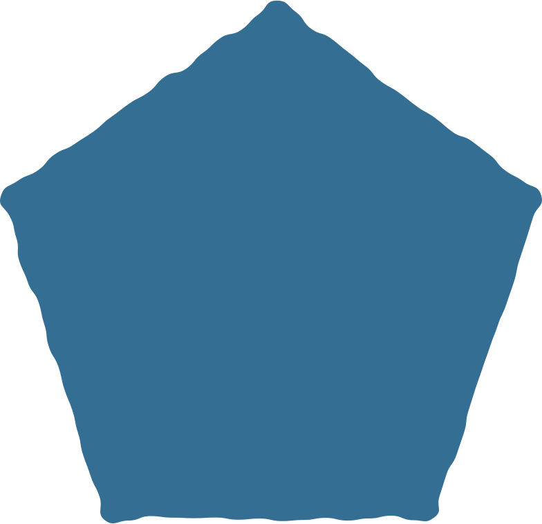 style pentagon blue Vector images in PNG and SVG | Icons8 Illustrations