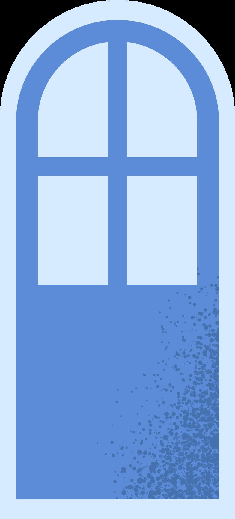 balcony door Clipart illustration in PNG, SVG
