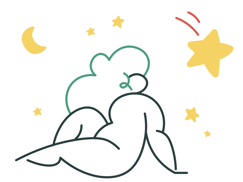 Falling star Clipart illustration in PNG, SVG
