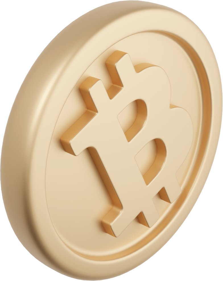Bitcoin Clipart illustration in PNG, SVG