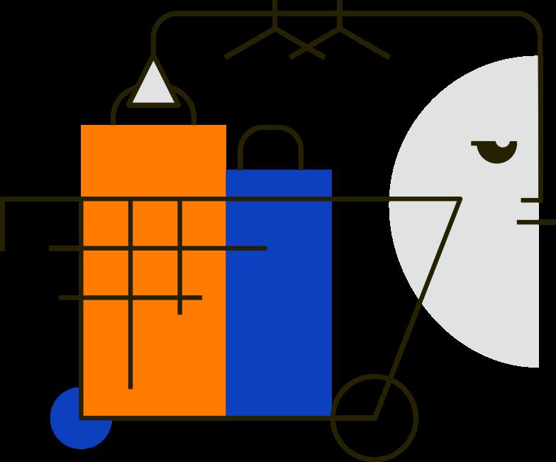 shopping Clipart-Grafik als PNG, SVG