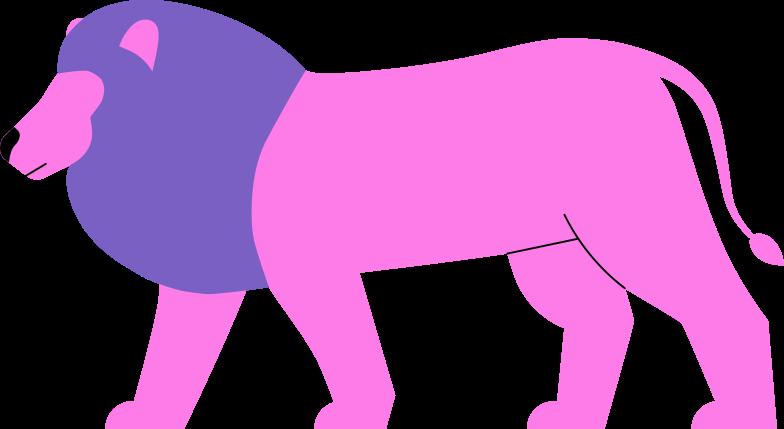 lion Clipart illustration in PNG, SVG