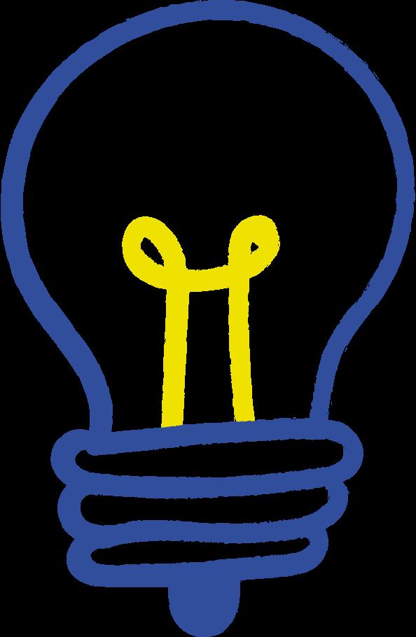 lightbulb Clipart illustration in PNG, SVG