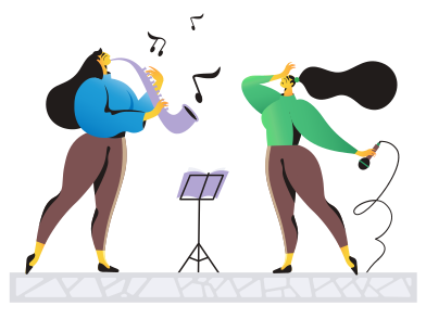 style Live music images in PNG and SVG | Icons8 Illustrations
