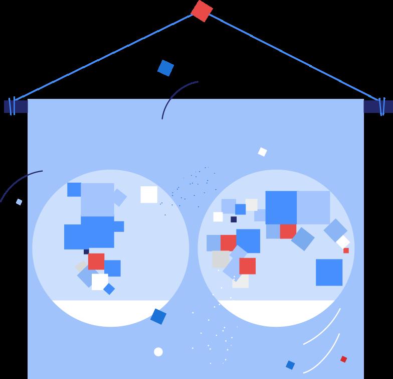 map Clipart illustration in PNG, SVG