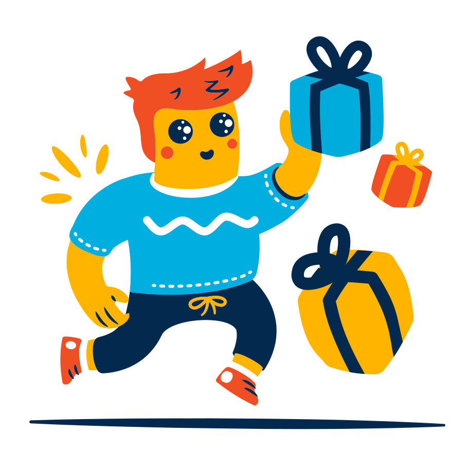 Birthday gifts Clipart illustration in PNG, SVG
