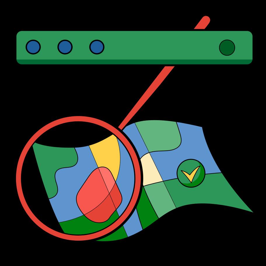 Suche nach einem ort Clipart-Grafik als PNG, SVG