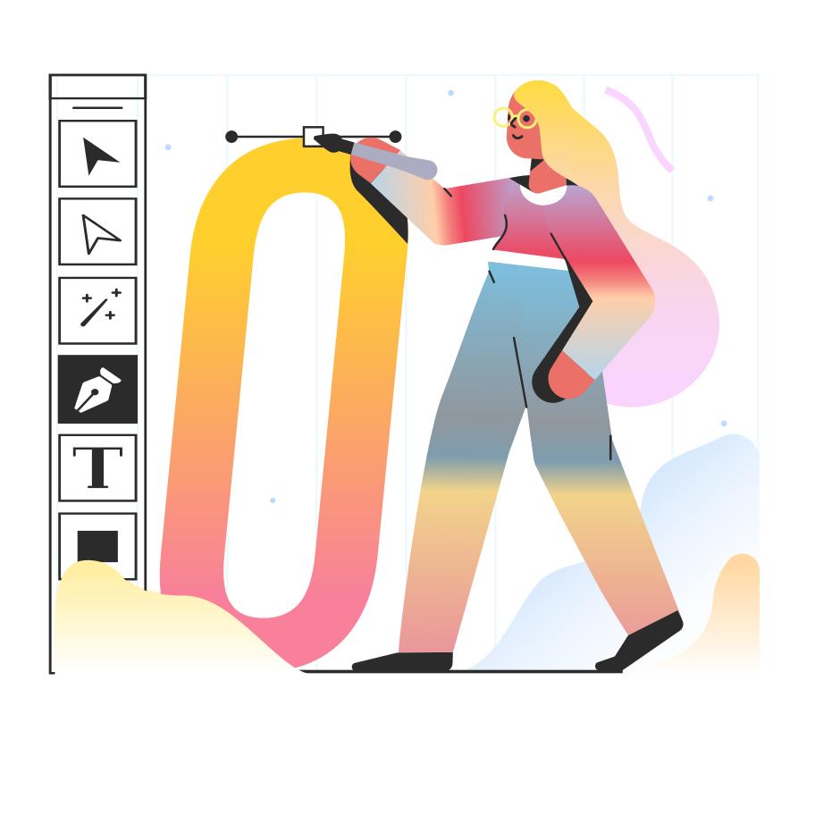 Design process Clipart illustration in PNG, SVG