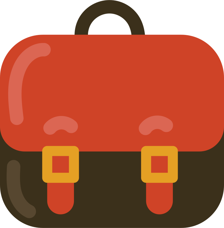 style school bag front Vector images in PNG and SVG | Icons8 Illustrations