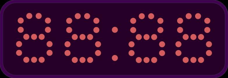 scoreboard Clipart illustration in PNG, SVG