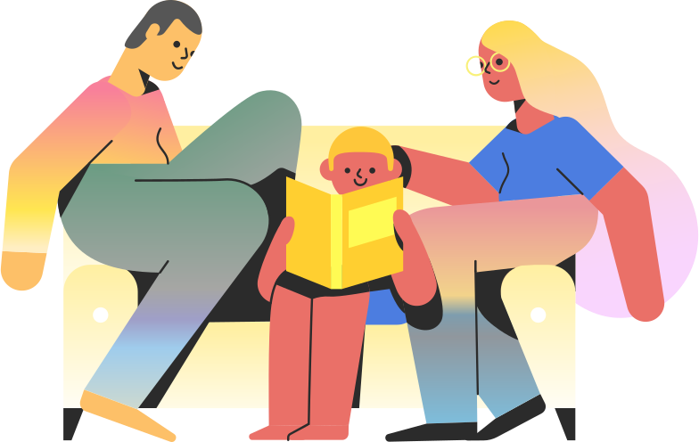 style family on couch Vector images in PNG and SVG | Icons8 Illustrations
