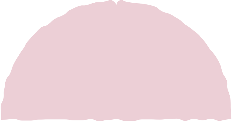 semicircle pink Clipart illustration in PNG, SVG