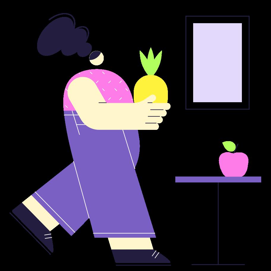 Fruit still life Clipart illustration in PNG, SVG