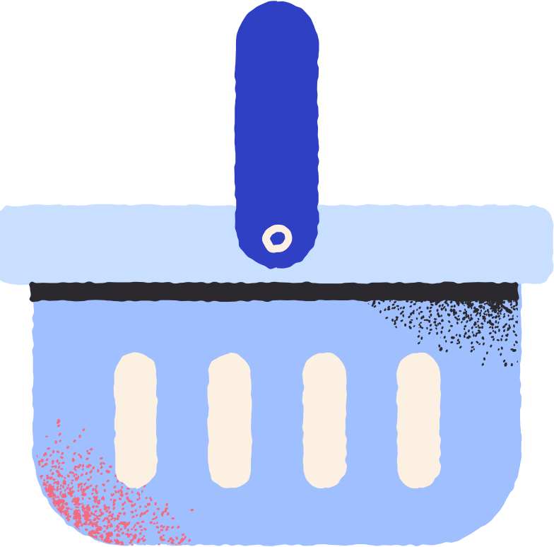 Ilustración de clipart de food basket en PNG, SVG