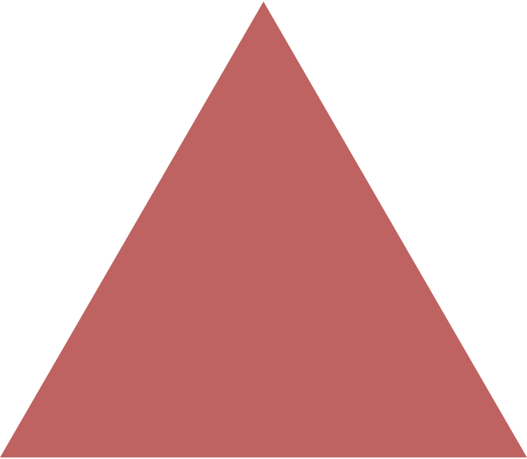 triangle burgundy Clipart illustration in PNG, SVG