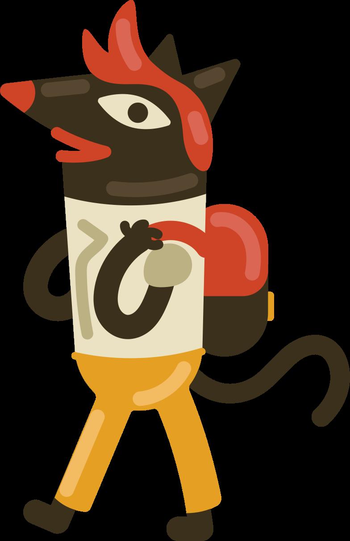 schoolboy Clipart illustration in PNG, SVG