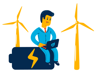 style Wind power images in PNG and SVG | Icons8 Illustrations