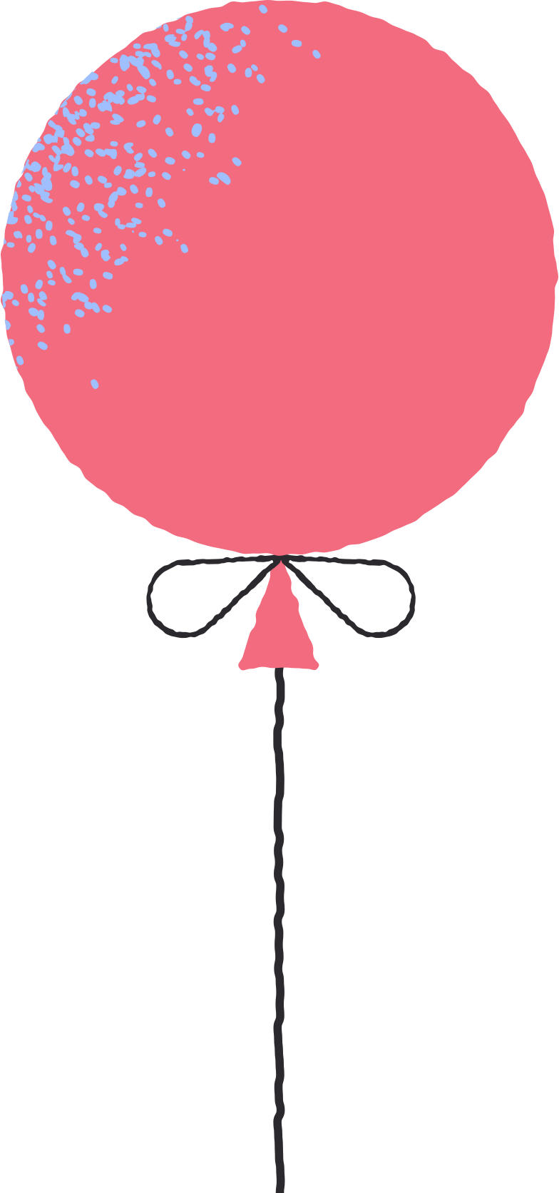red balloon Clipart illustration in PNG, SVG