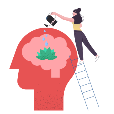 style Mental health images in PNG and SVG | Icons8 Illustrations
