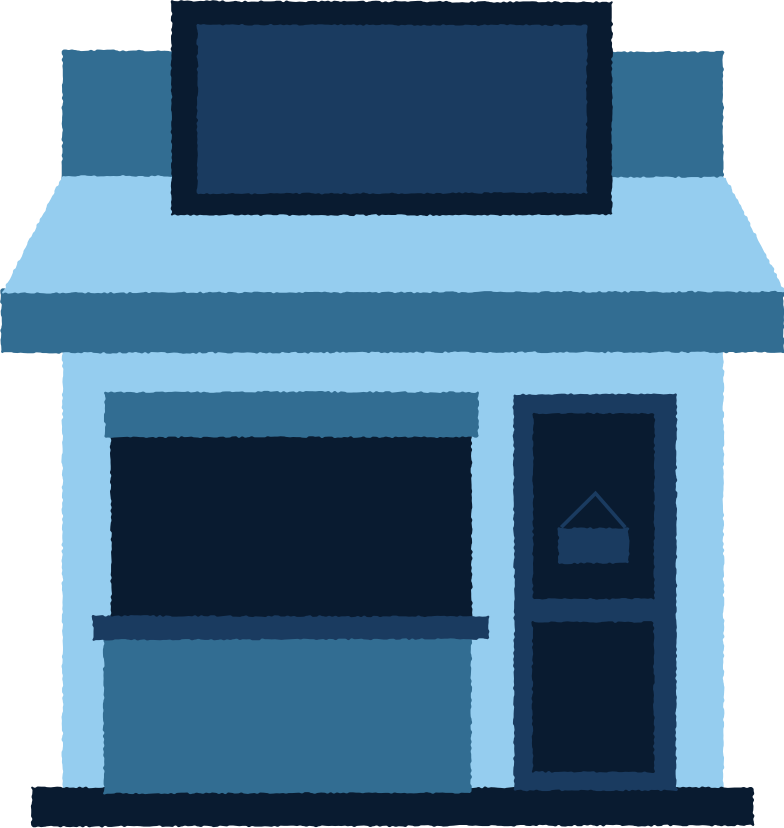 style blue shop Vector images in PNG and SVG | Icons8 Illustrations