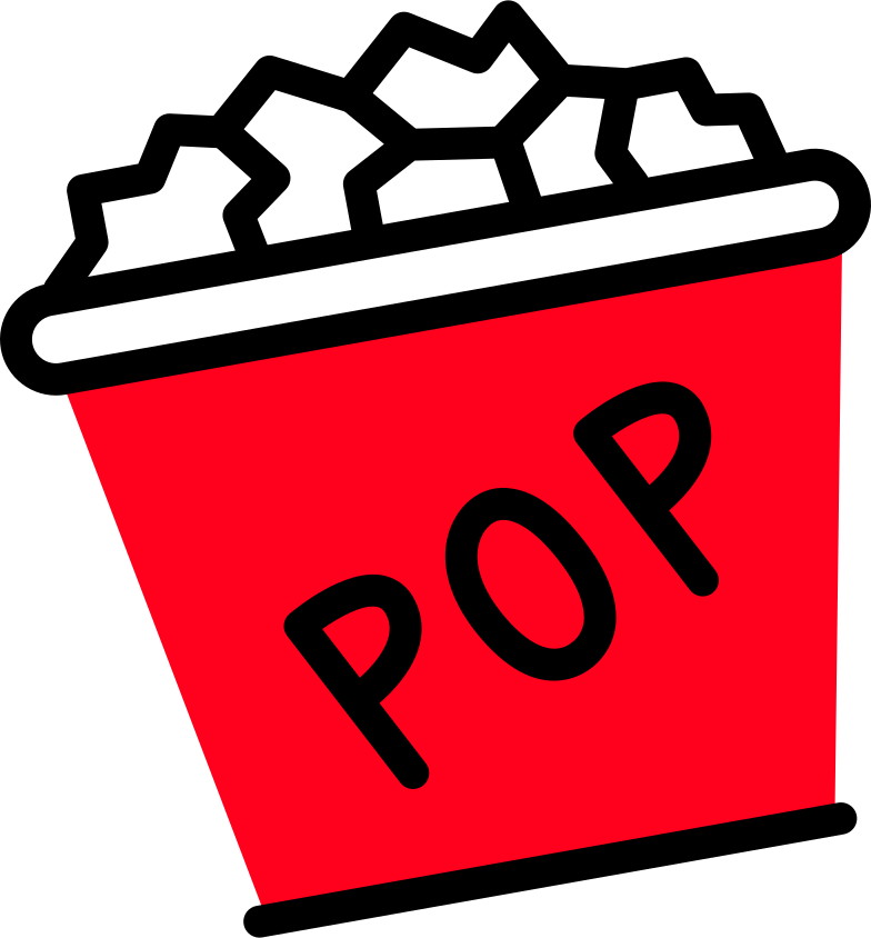 popcorn small Clipart illustration in PNG, SVG