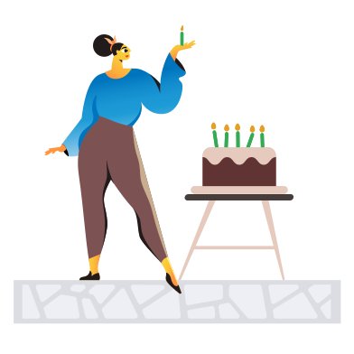 style Happy birthday images in PNG and SVG | Icons8 Illustrations