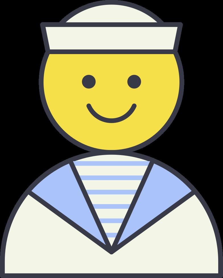sailor Clipart illustration in PNG, SVG