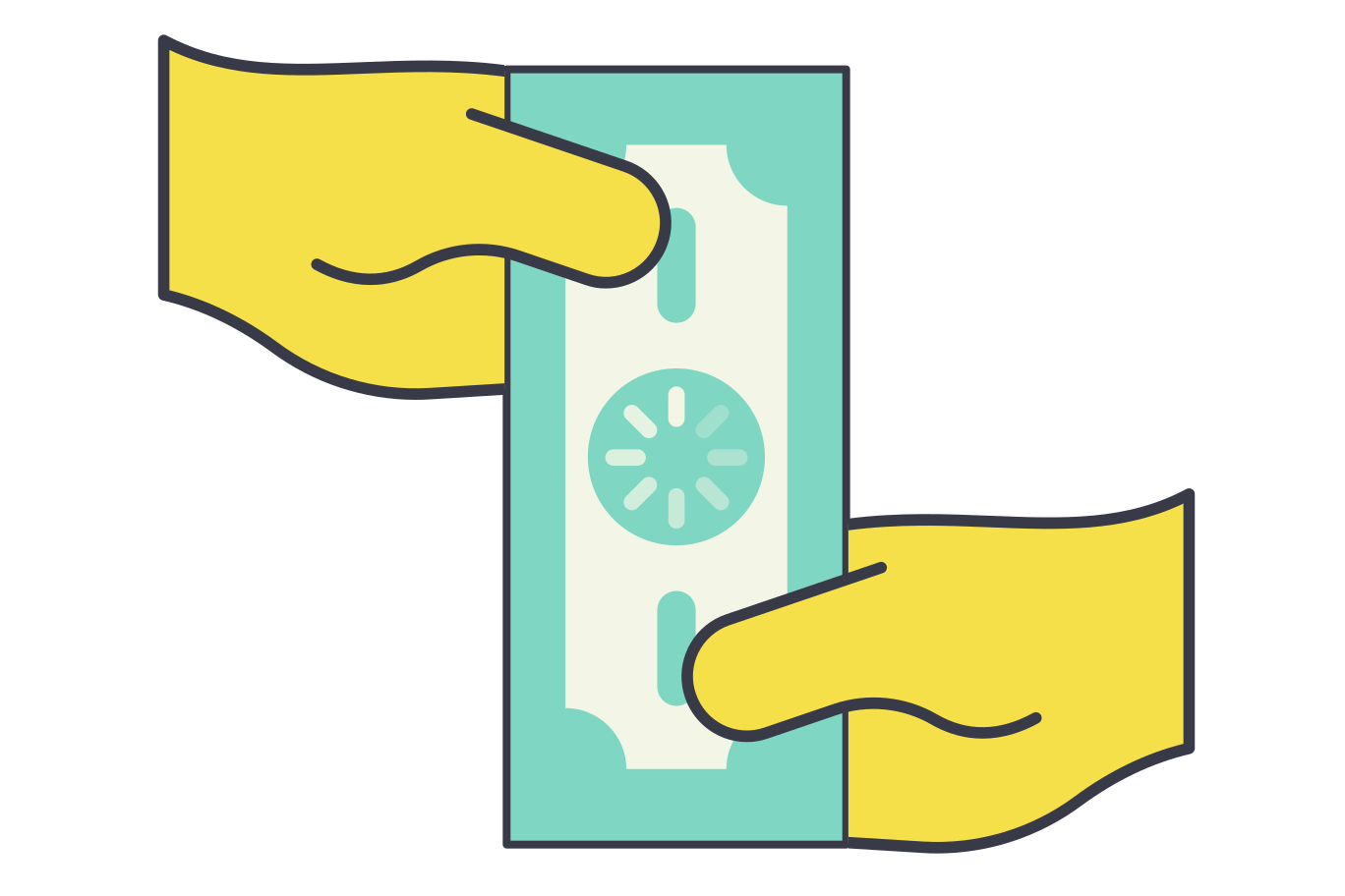 Payment in process Clipart illustration in PNG, SVG
