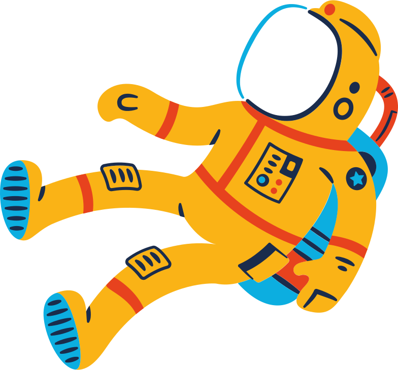 space suit Clipart illustration in PNG, SVG