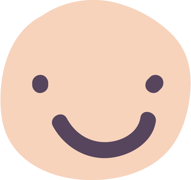 Ilustración de clipart de Cara sonriente en PNG, SVG